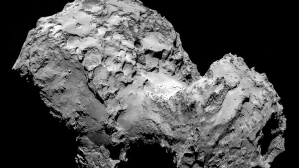 The astronomers claim comet 67P could be more hospitable to micro-life than our Arctic and Antarctic regions (Pic: ESA)