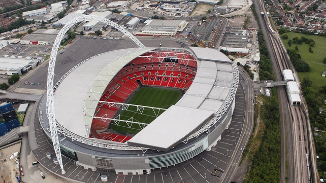 Wembley Stadium has been revamped since the last European Nations Cup final in 1996