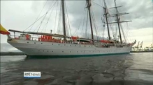 Drugs reportedly found on Spanish tall ship which visited Dublin