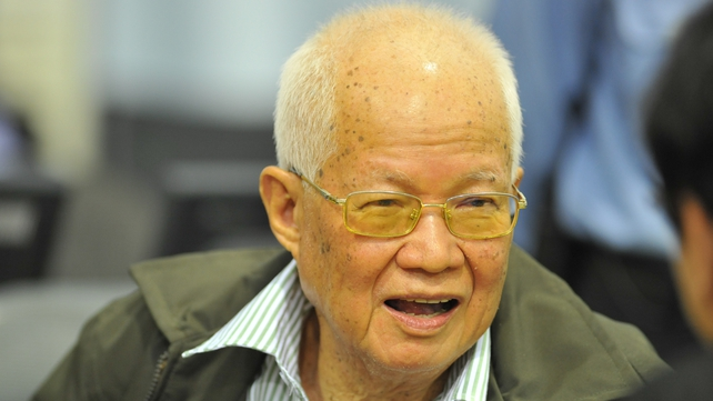 Khieu Samphan was the former head of State
