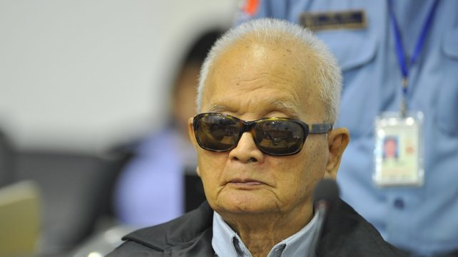 Nuon Chea was second in command behind Pol Pot