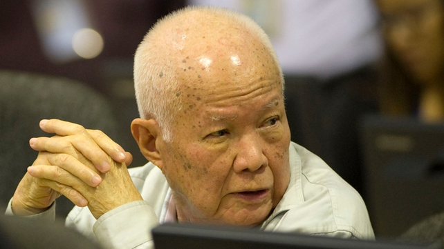 Khieu Samphan was former head of state