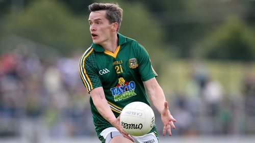 Seamus Kenny in action against Kildare earlier this summer