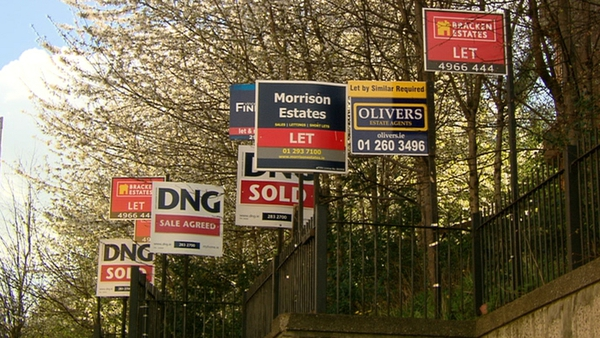 The average asking price for a house is now €201,000 - up €31,000 on the lows of mid-2013