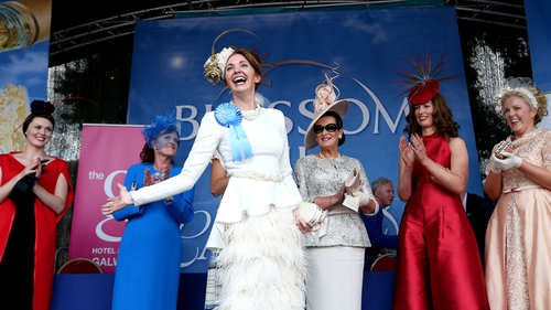 It was Ladies Day at the RDS where Carol Kennelly was named Best Dressed Lady