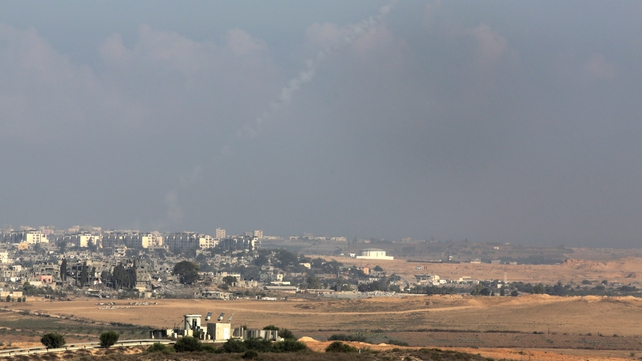 Rocket fire from Gaza resumed early this morning
