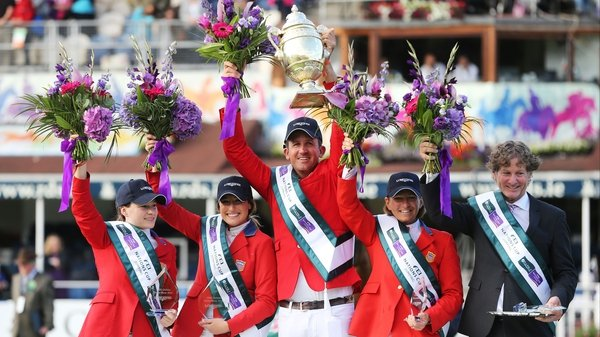 The USA impressed at the RDS as they finished with just four faults