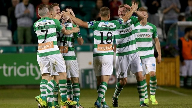 Shamrock Rovers turned on the style in the second half to secure the points against Derry
