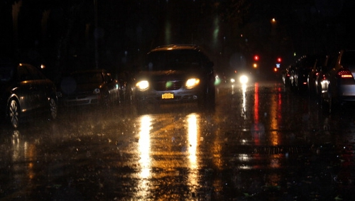 Police said violators were being made to look at bright headlights for five minutes