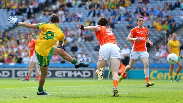 Odhran Mac Niallais scored the opening goal for Donegal