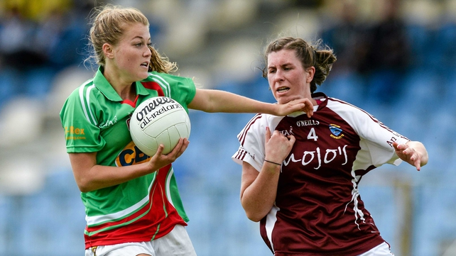 Mayo's Sarah Rowe holds off Triona Durkan