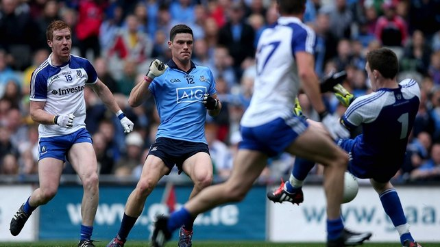 Stern examination in the words of Jim Gavin - but Dublin were in cruise control once Diarmuid Connolly found the net in the first half