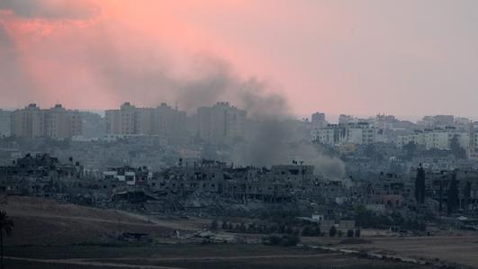 Ceasefire talks in Cairo