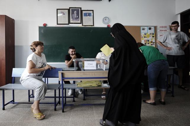 53 million Turks were eligible to vote
