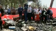 Small passenger plane crashes in Tehran