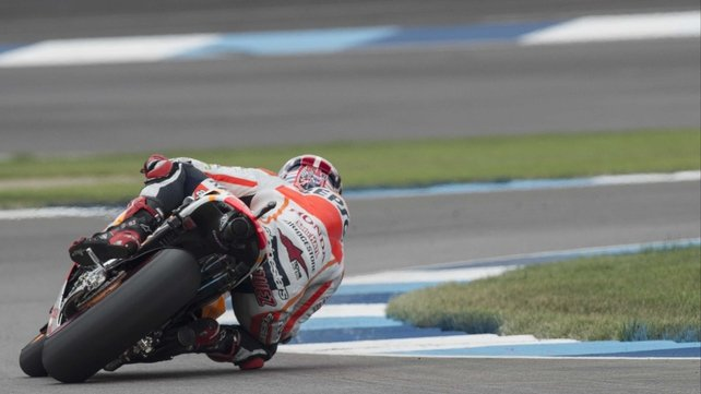 A view of Marc Marquez other MotoGP riders are well used to
