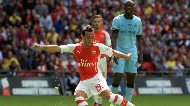Santi Cazorla set Arsenal on their way