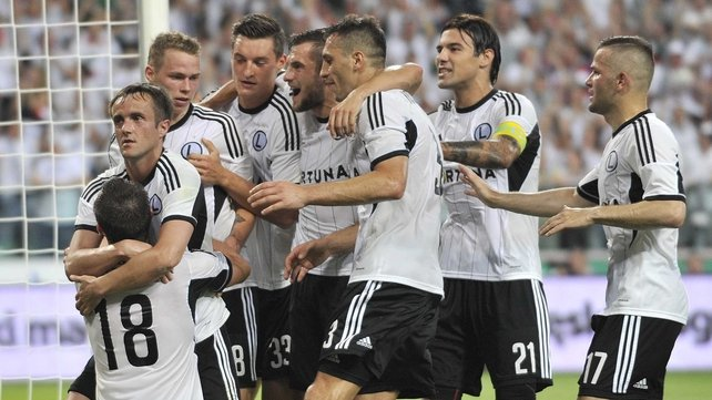 Legia Warsaw's last hope of returning to the Champions League is gone