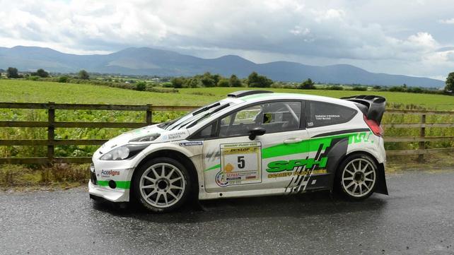 Darragh O'riordan's Ford Fiesta WRC