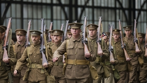 The Khaki Chums re-enact the journey 100 years ago today of first WW1 soldiers