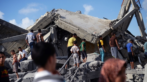 Israeli air strikes and shelling killed three Palestinians in Gaza