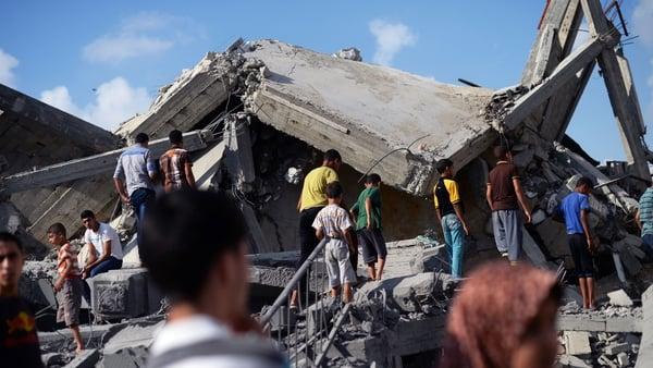 Israeli air strikes and shelling killed three Palestinians in Gaza
