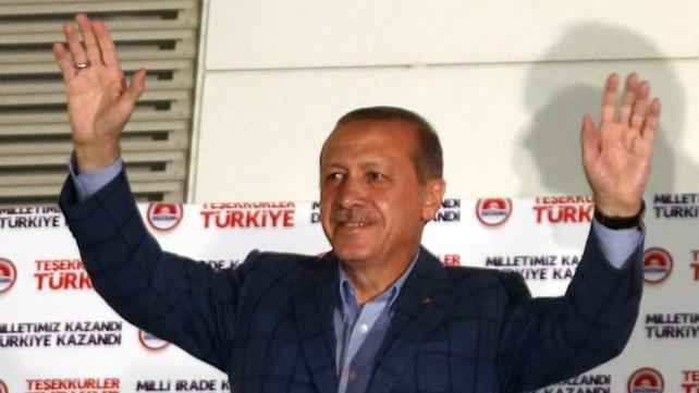 Recep Tayyip Erdogan wins Turkey's presidential election