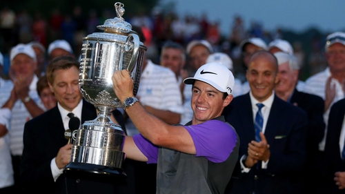 Rory McIlroy has now won four majors