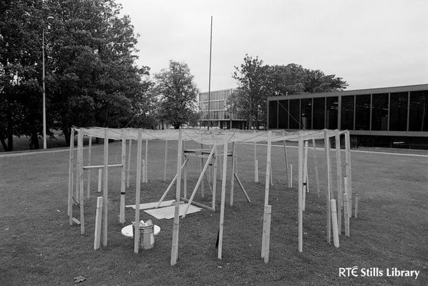 Field strength test for Radio Tara (1987)