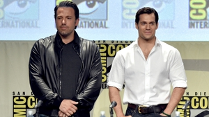 Ben Affleck (Batman) and Henry Cavill (Superman)
