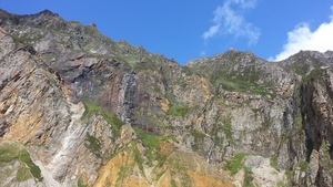 The operation will see over 500 tonnes of stone lifted onto the mountain by helicopter