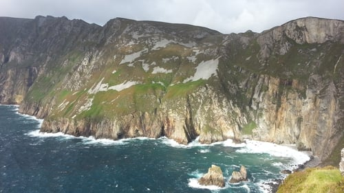 Sliabh Liag on Donegal's 'weather-nibbled coast'