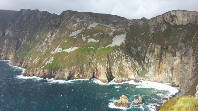 Sliabh Liag has some of the highest sea cliffs in Europe