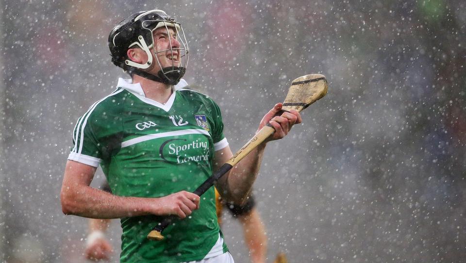 Limerick forward Declan Hannon