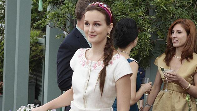 Leighton Meester as Gossip Girl's Blair Waldorf
