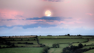 The Supermoon in Kilkenny (Pic: Ray Brophy)