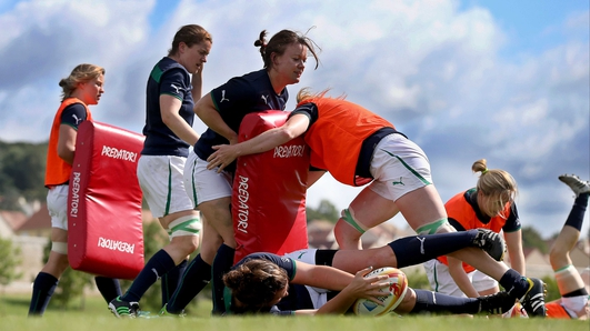 Irish women face England in World Cup semi-final