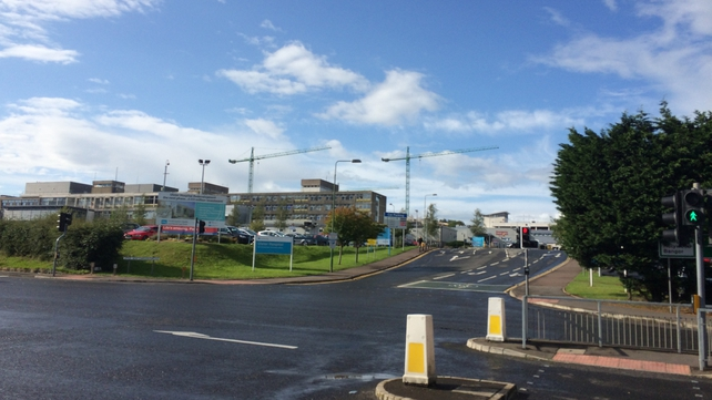 Two people were admitted to Ulster Hospital with minor injuries