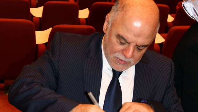 Haider al-Abadi has been nominated to be Iraqi Prime Minister