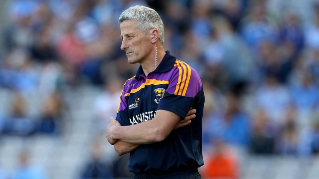 Outgoing Wexford Manager Aidan O'Brien