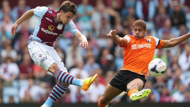 Aleksandar Tonev failed to secure a place in Aston Villa's first