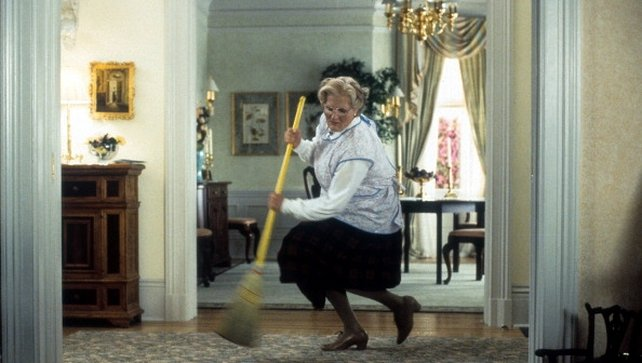 Robin Williams was famous for films such as Mrs Doubtfire