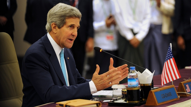 John Kerry ruled out sending US combat troops to Iraq