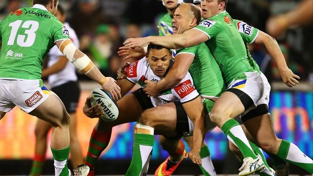 Ben Te'o joins from rugby league side South Sydney Rabbitohs