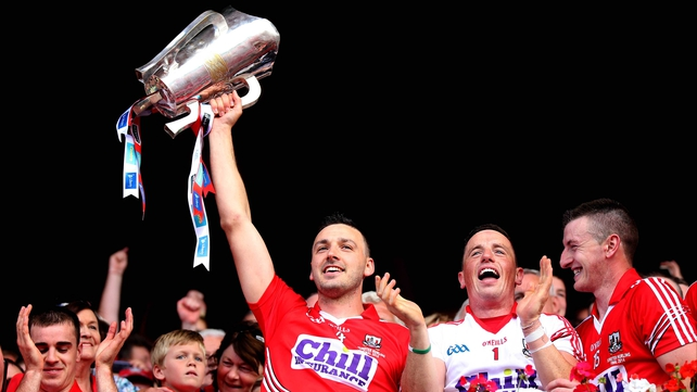 Pa Cronin celebrates Cork's Munster title