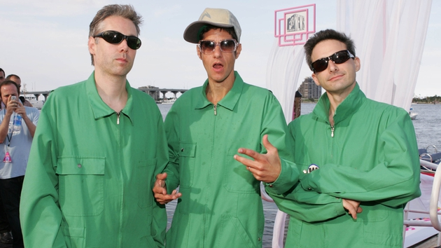 The Beastie Boys pictured in 2004