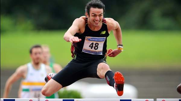Thomas Barr made his return from injury in Santry on Saturday