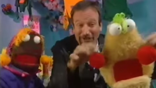 Robin Williams with Zig and Zag