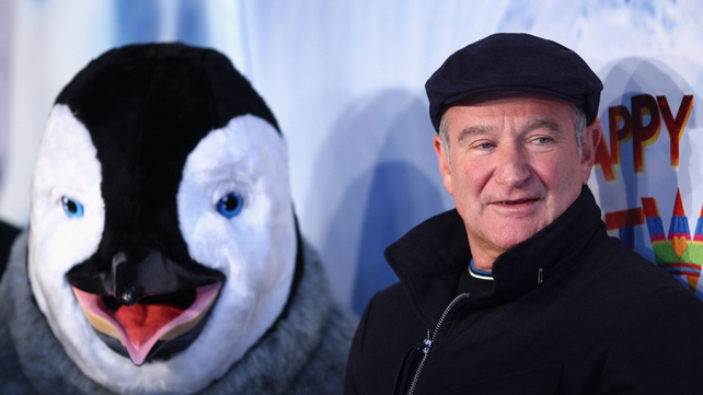 Williams pictured at the Happy Feet 2 Australian Premiere at Hoyts Cinema in Sydney on 4 December 2011
