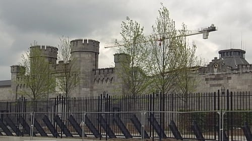 The search at the prison was led by the Operational Support Group